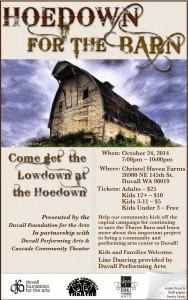Hoedown at the Barn